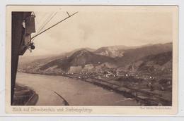 """Deutsches Reich Karte Zeppelin Mit """"Holztauben-Frankatur""""nach Laufenburg/Schweiz - Covers & Documents"""