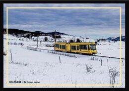 66    BOLQUERE  .... Le  Train  Jaune .. Sous  La  Neige - Otros Municipios
