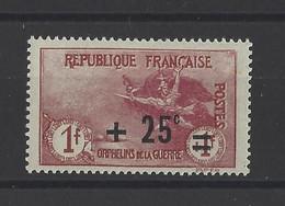 FRANCE .  YT   N° 168  Neuf **  1922 - Neufs
