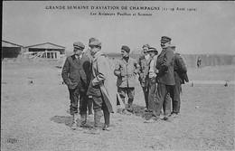 Grande Semaine D'Aviation De Champagne - Les Aviateurs SOMMER Et PAULHAN- Aout 1909 - Très Rare - Sonstige Gemeinden