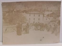 """Italy Italia Foto """"Incudine (Brescia) Maggio 1917 Sul Ponte Di Domenica"""" 107 X 78 Mm. - Otros"""