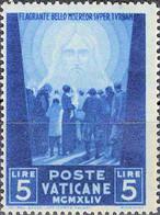 4449 Mi.Nr. 115 Vatikan (1945) Crowd Of People Facing The Redeemer Ungebraucht - Unused Stamps