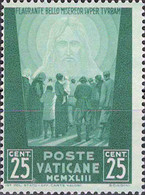 4450 Mi.Nr. 96 Vatikan (1944) Crowd Of People Facing The Redeemer Ungebraucht - Unused Stamps