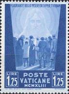 4451 Mi.Nr. 98 Vatikan (1944) Crowd Of People Facing The Redeemer Ungebraucht - Unused Stamps