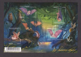 """FRANCE / 2013 / Y&T N° 4739/4742 **  En Bloc Ou F4739 ** (Feuillet """"Chauves-souris"""") X 1 - Mint/Hinged"""