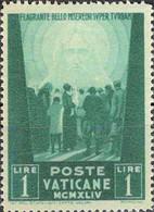 4453 Mi.Nr. 113 Vatikan (1945) Crowd Of People Facing The Redeemer Ungebraucht - Unused Stamps