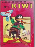KIWI Album Comique De KIWI -  N°1 - Rare - Trimestriel - 15 Juin 1964 - Couverture Illustrée Par Cezard - 96 Pages - Prime Copie