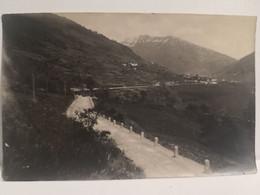 """Italy Italia Foto Val Camonica Brescia""""Temù - In Fondo Cima Tonale Giugno 1917"""" 130 X 83 Mm. - Otros"""