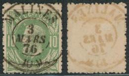 """émission 1869 - N°30 Obl Double Cercle """"Malines"""" / Collection Spécialisée - 1869-1883 Leopold II"""