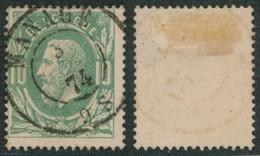 """émission 1869 - N°30 Obl Double Cercle """"Manage"""" / Collection Spécialisée - 1869-1883 Leopold II"""