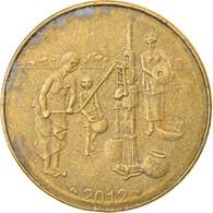 Monnaie, West African States, 10 Francs, 2012, TTB, Aluminum-Bronze, KM:10 - Elfenbeinküste