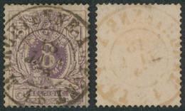"""émission 1869 - N°29 Obl Double Cercle """"Marchienne-au-pont"""". Beau Centrage / Collection Spécialisée - 1869-1883 Leopold II"""