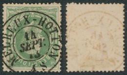 """émission 1869 - N°30 Obl Double Cercle """"Melreux-Hotton"""" Superbe Centrage / Collection Spécialisée - 1869-1883 Leopold II"""