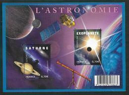 France 2009 Bloc Feuillet N° F4353 Neuf Europa Astronomie à La Faciale - Mint/Hinged