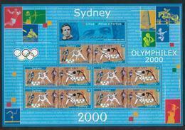 France 2000 Bloc Feuillet N° 31A Neuf Jeux Olympiques De Sydney à La Faciale - Mint/Hinged