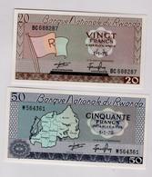 Lot 2 Billets Rwanda - Ruanda