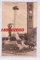 SANNAZZARO DEI BURGONDI - MONUMENTO AI CADUTI F/PICCOLO VIAGGIATA ANIMAZIONE - Pavia