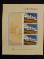PORTUGAL ACORES - EUROPA 1983 - MNH ** - Blocchi & Foglietti