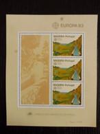 PORTUGAL MADEIRA - EUROPA 1983 - MNH ** - Blocchi & Foglietti