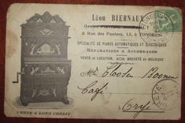Piano Léon Biernaux Tongres Hasselt 1914 - Tongeren
