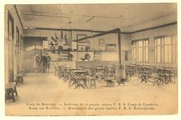 A0796[Postkaart] Camp De Beverloo Intérieur De La Grande Cantine F.B.S. Camp De Cavalerie [Leopoldsburg Beverlo Kantine - Casernes