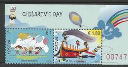 KOS 2020-517-8 CHILDREN DAY, KOSOVO, 2v, MNH - Kosovo