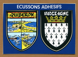 QUIBERON  (56) : ECUSSON BLASON ADHESIF  (CPM) - Quiberon