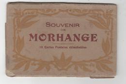 57 - MORHANGE - CARNET COMPLET DE 10 CARTES - Morhange