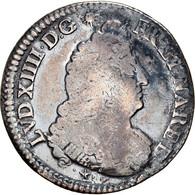 Monnaie, France, Louis XIV, 1/2 Écu De Béarn Aux Palmes, 1/2 Ecu, 1694, Pau - 1643-1715 Louis XIV Le Grand
