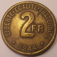 PHILADELPHIE  2 FRANCS 1944 - I. 2 Francs