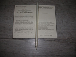 René Snauwaert (Koekelare 1885 - Oostende 1962);Maeckelberghe ;Staelens;Vanwelsenaere;Vanhooren - Santini