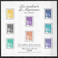 France 2002 Bloc Feuillet N° 44 Neuf Marianne à La Faciale - Mint/Hinged