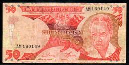 329-Tanzanie 50 Shillings 1985 AM160 - Tanzanie