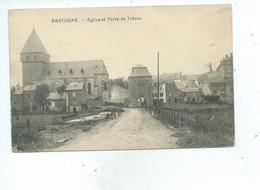Bastogne Eglise Et Porte De Trêves - Bastenaken