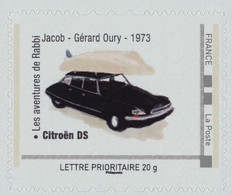 FRANCE Citroën DS. Film Les Aventure De Rabbi Jacob De Gérard Oury Avec Louis De Funes Neuf**. - Personalized Stamps (MonTimbraMoi)