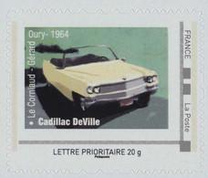 FRANCE Cadillac Deville. Film Le Corniaud De Gérard Oury Avec Louis De Funes Neuf**. - Personnalisés (MonTimbraMoi)