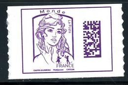 France - 2016 - Autoadhésif - Marianne De Ciappa Et Kawena Datamatrix - NEUF - No AA1217 - Cote 7,50 € - Adhésifs (autocollants)