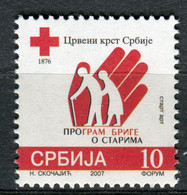SERBIA 2007 - Red Cross - Care For Old - MNH Set - Serbie