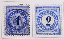 Suisse - 1978/83 - Y&T _ Timbre Taxe N° 1-2-3-4-5-6 /*/ - Taxe