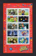 France 2005 - Red Cross - Video Games/ Croix Rouge - Jeux Vidéo - Minisheet - MNH** - Excellent Quality - Lettres & Documents