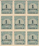 10 Vezes Blocks Von 9 BFM Und Die Selbe Abart, Mi. 314 - Nuevos