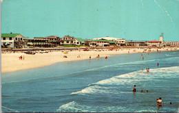Florida Jacksonville Beach House And Sunbathers 1973 - Jacksonville