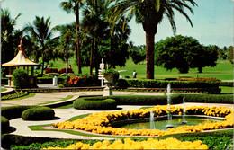 Florida Miami Doral Country Club & Hotel Formal Gardens 1971 - Miami