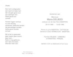 Maria Delboo (1899-1995) - Santini