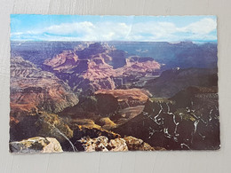 Grand Canyon, Near Maricopa Point (gelaufen, 1973); #H48 - Grand Canyon