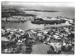 CONCARNEAU - Vue Générale Aérienne Et La Pointe Du Cabellou - Concarneau