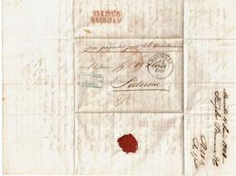 CTN70 - LAC  MARSEILLE / PALERME 11/6/1844 - 1801-1848: Voorlopers XIX