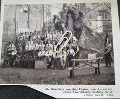ANTWERPEN..1932..DE KAJOTTERS VAN SINT-PAULUS VIEREN HUN VIJFJRIG BESTAAN - Zonder Classificatie