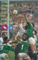 Livret Programme Rugby - Tournoi Des 5 Nations 1988 - FRANCE / IRLANDE - Parc Des Princes - Rugby