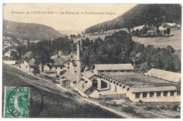CPA   LES USINES DE LA FERRIERE-SOUS-JOUGNE - Andere Gemeenten